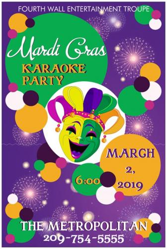 March 2: Mardi Gras