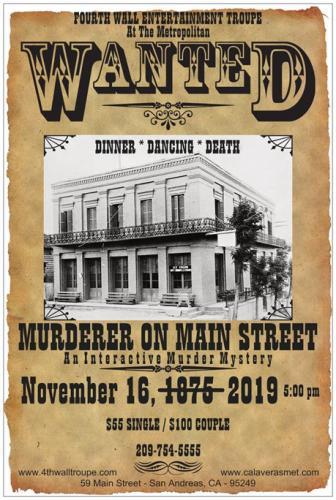 Murderer On Main Street
